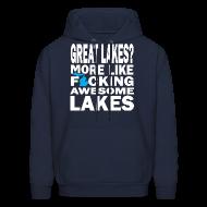 Hoodies ~ Men's Hoodie ~ Great Lakes?