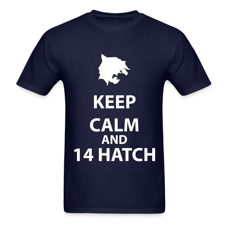 Keep Calm and 14 Hatch T-Shirts - Men's T-Shirt