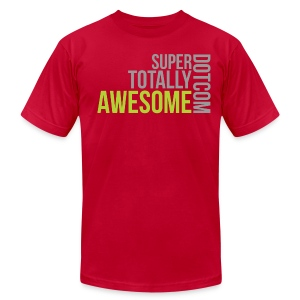 Super Totally Awesome Premium! - Men's T-Shirt by American Apparel