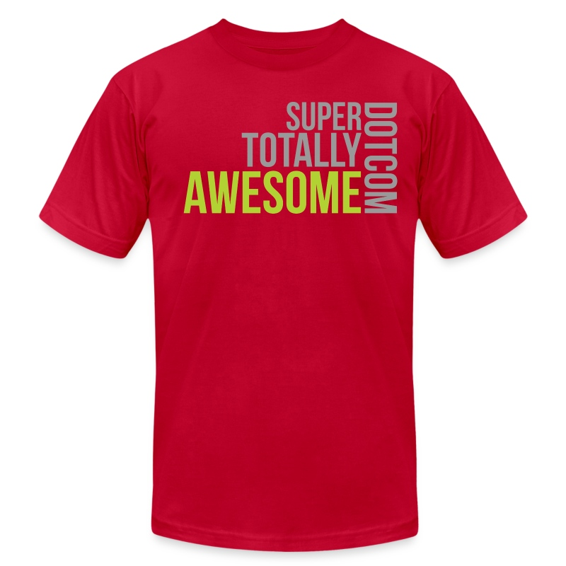 Super Totally Awesome Premium! - Men's Fine Jersey T-Shirt