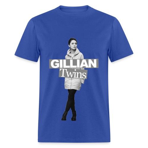 Twins 001 (Gillian) - Men's T-Shirt