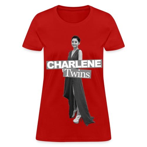 Twins 001 (Charlene) - Women's T-Shirt