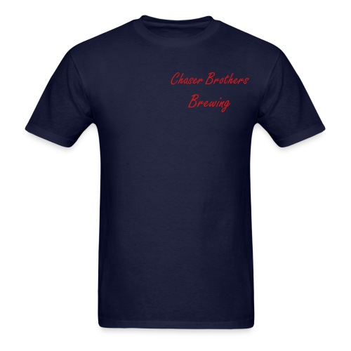 Chaser Brothers Brewing T! - Men's T-Shirt
