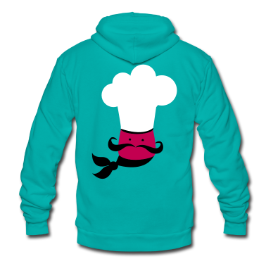 cute chef cook kitchen instructor Zip Hoodies/Jackets