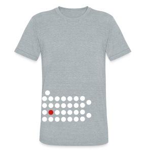 PIttsburgh Dot Shirt - Unisex Tri-Blend T-Shirt