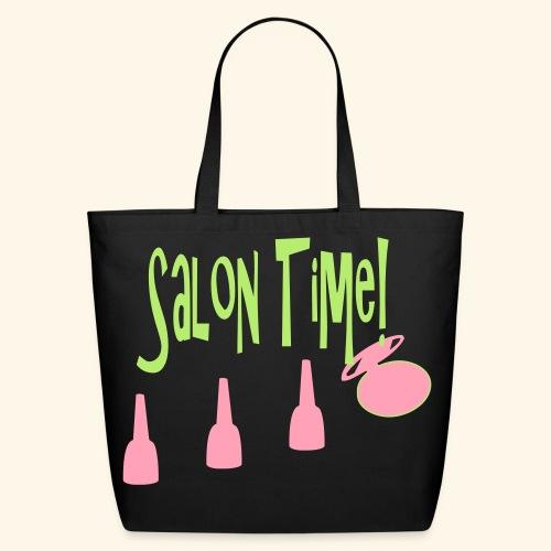 salon time - Eco-Friendly Cotton Tote