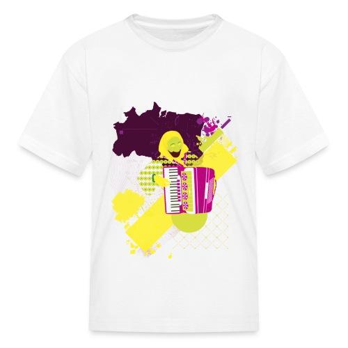 kids white tee - Kids' T-Shirt