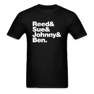 T-Shirts ~ Men's T-Shirt ~ FF- Reed, Sue, Johnny & Ben