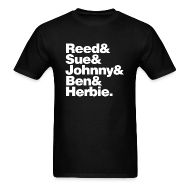 T-Shirts ~ Men's T-Shirt ~ Fantastic Five - now with added Herbie!