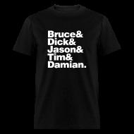 T-Shirts ~ Men's T-Shirt ~ Bruce and the Boy Wonders