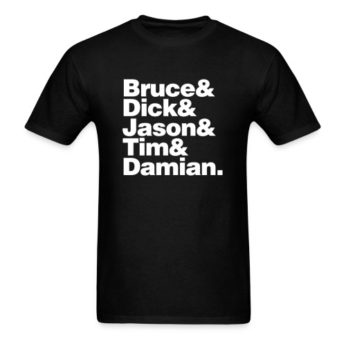 Bruce and the Boy Wonders - Men's T-Shirt