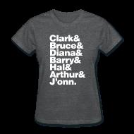 T-Shirts ~ Women's T-Shirt ~ JLA - America's League of Justice