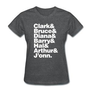 JLA - America's League of Justice - Women's T-Shirt