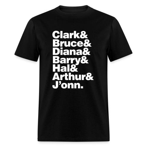 JLA - America's League of Justice - Men's T-Shirt