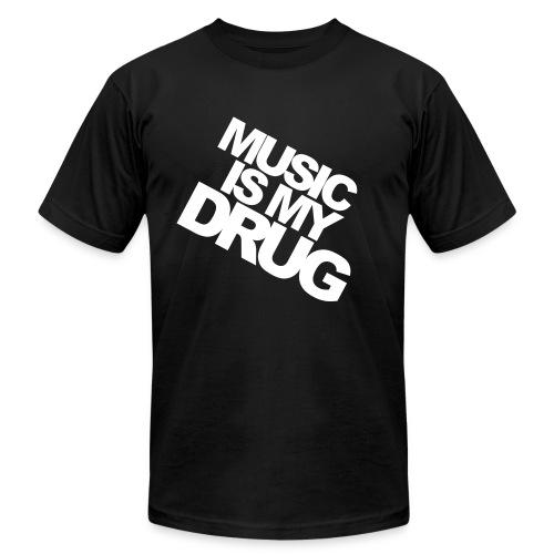 U-herd Music Is My Drug - Men's  Jersey T-Shirt