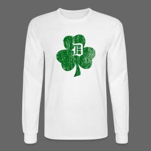 Detroit Shamrock - Men's Long Sleeve T-Shirt
