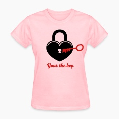 Lock to my heart 3_2c Women's T-Shirts
