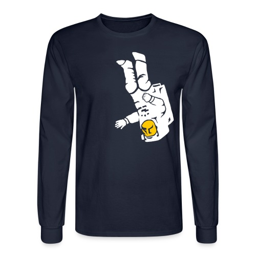 Space Walk Longsleeve Shirt - Men's Long Sleeve T-Shirt
