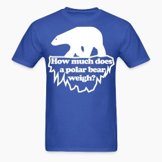 How much does a polar bear weigh? T-Shirts