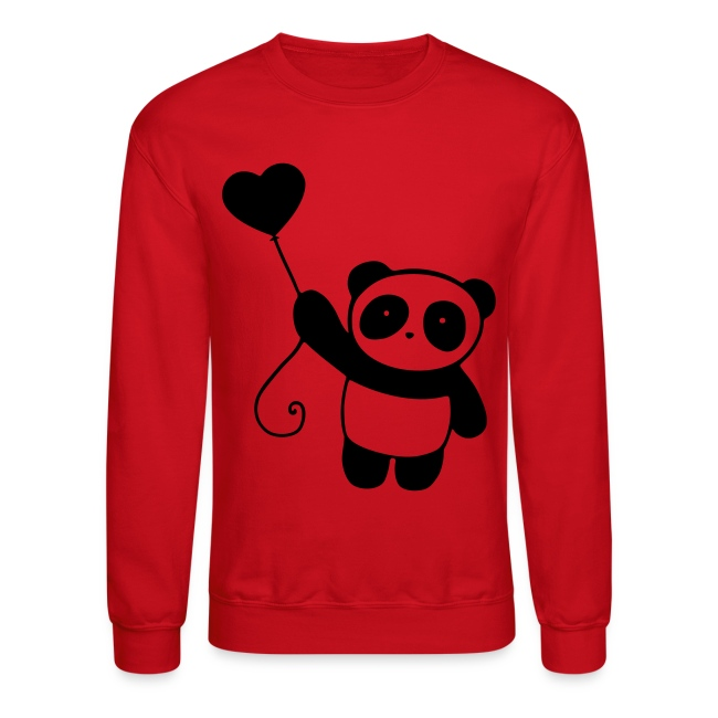 Panda Crew Neck Sweatshirt