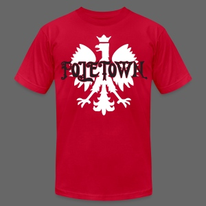 Poletown - Men's T-Shirt by American Apparel