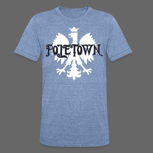 Poletown - Unisex Tri-Blend T-Shirt by American Apparel