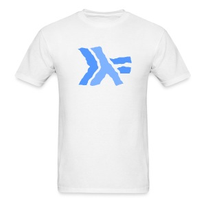 Wavy Haskell logo --standard weight - Men's T-Shirt