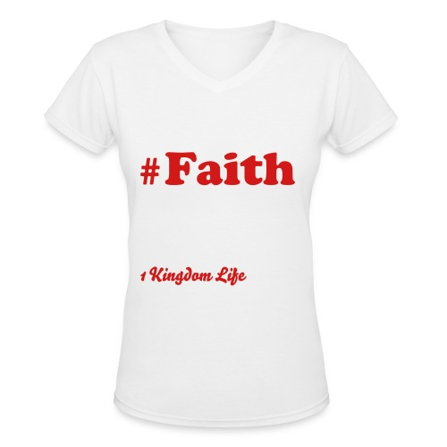 The disciples trending topic of life #Faith. - Women's V-Neck T-Shirt