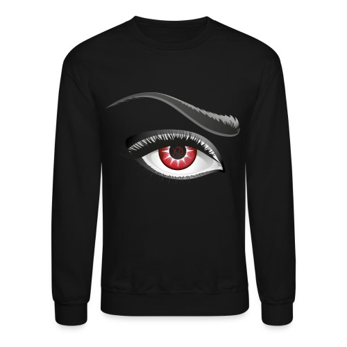 ✗♥O Red Eye Mens Crewneck - Crewneck Sweatshirt