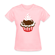 Women's T-Shirts ~ Women's T-Shirt ~ Cupcake