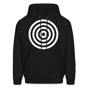 Bullseye Men's Hooded Sweatshirt - Men's Hoodie