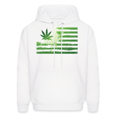Weed Flag Hoodies