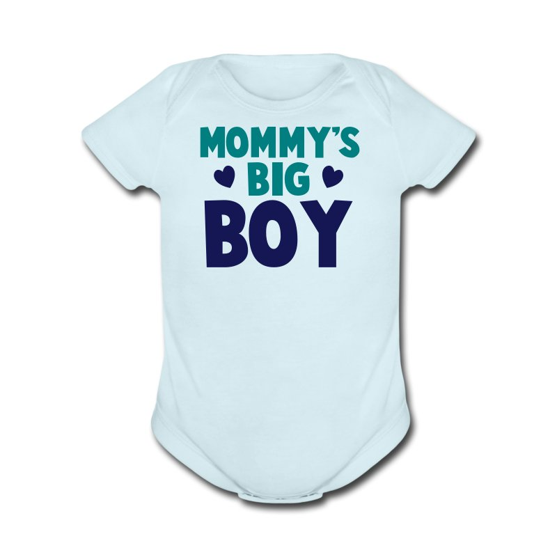 mommy 39 s big boy blue one piece spreadshirt. Black Bedroom Furniture Sets. Home Design Ideas