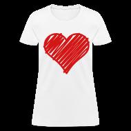 Women's T-Shirts ~ Women's T-Shirt ~ Heart