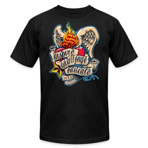 On Fire - Mens - Men's T-Shirt by American Apparel