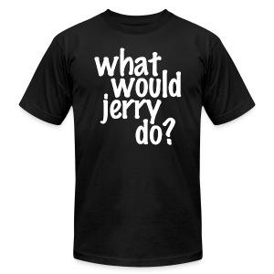 WWJD - Mens - Men's Fine Jersey T-Shirt