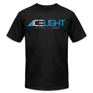Ice Light - Mens - Men's T-Shirt by American Apparel