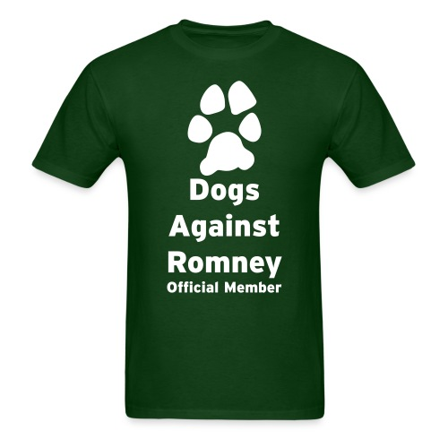 Official Dogs Against Romney Basic Mens Tee - Men's T-Shirt