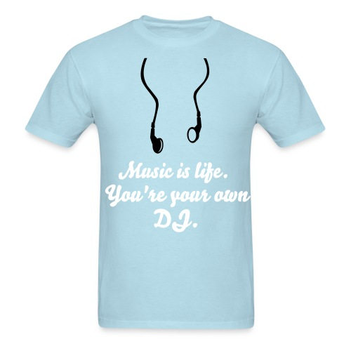 Music is life T-shirt - Men's T-Shirt