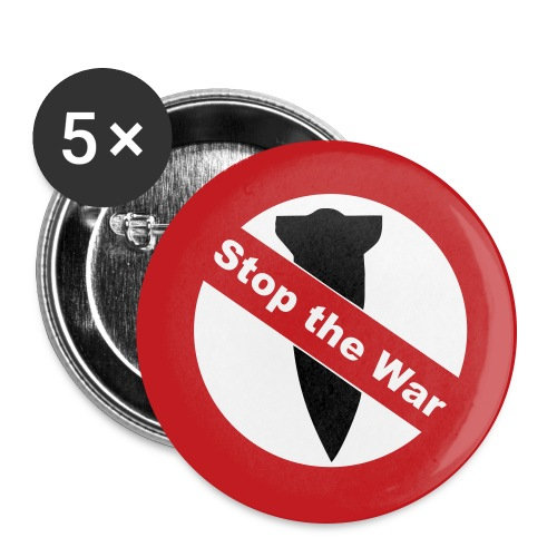 STOP THE WAR! - Large Buttons
