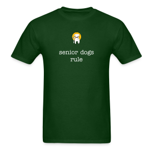 Men's Muttville senior dogs rule tee - Men's T-Shirt