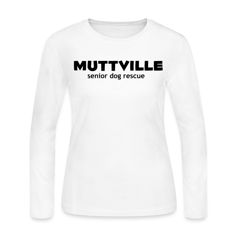 Women's Muttville long sleeve tee - Women's Long Sleeve Jersey T-Shirt