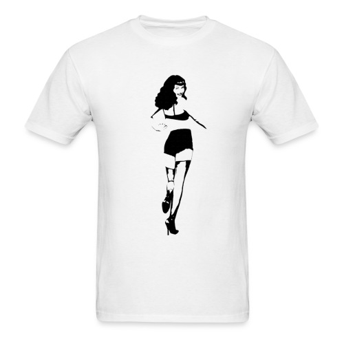 Bettie Page - Men's T-Shirt