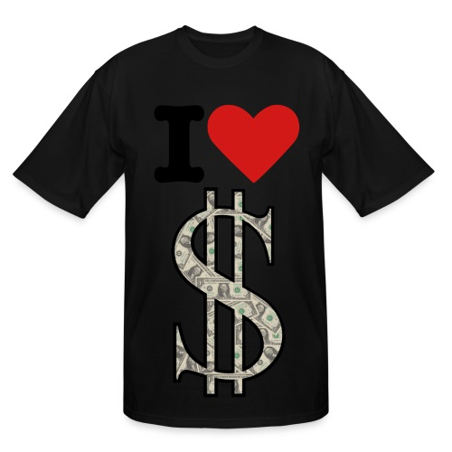 I LOVE MONEY - Men's Tall T-Shirt