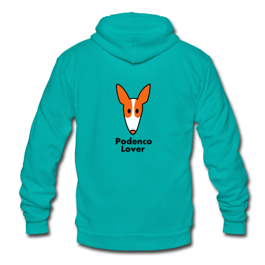 podenco_lover Zip Hoodies/Jackets