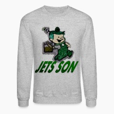 jets son Long Sleeve Shirts