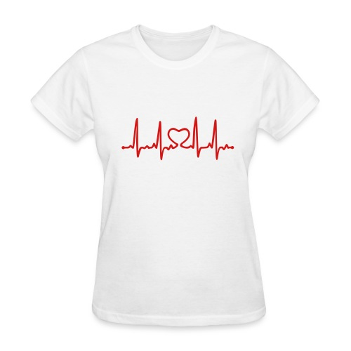 Heartbeat-Women's tee - Women's T-Shirt