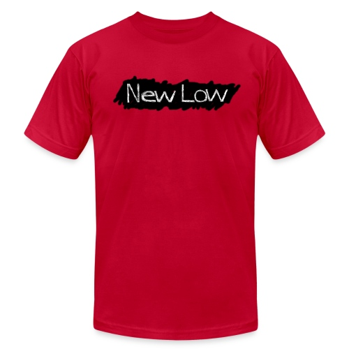 NEW LOW Shirt (American Apparel) - Men's Fine Jersey T-Shirt