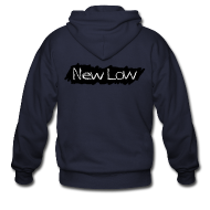 Hoodies ~ Men's Zip Hoodie ~ NEW LOW Zip-Up Hoodie