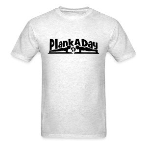 PlankADay/'Will Plank for Six Pack' Mens T-shirt - Men's T-Shirt